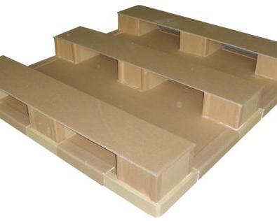 九脚型纸栈板