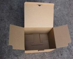 牛皮纸扣底盒